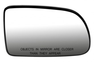 Dorman® 56166 - Passenger Side Door Mirror Glass with Backing Plate