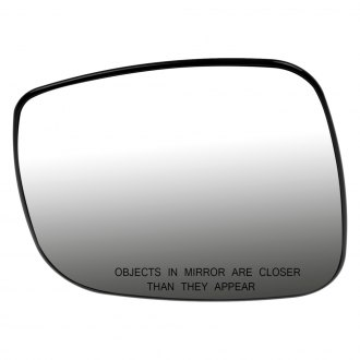 Dorman® - Passenger Side Mirror Glass with Backing Plate (Heated)