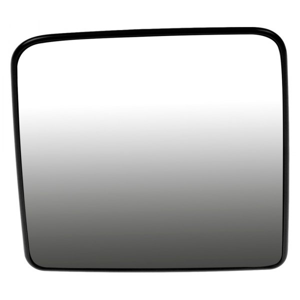 Dorman® - Driver Side Manual Mirror Glass with Backing Plate