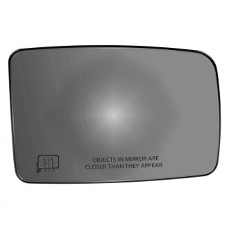 Dorman® - Passenger Side Power Mirror Glass with Backing Plate (Heated)