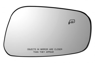 Dorman® 56507 - Passenger Side Power Door Mirror Glass with Backing Plate