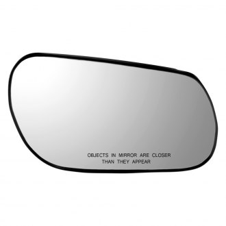 Dorman® - Passenger Side Door Mirror Glass with Backing Plate