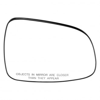 Dorman® - Passenger Side Mirror Glass with Backing Plate (Non-Heated)