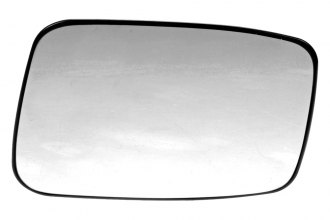 Dorman® - Driver Side Door Mirror Glass with Backing Plate