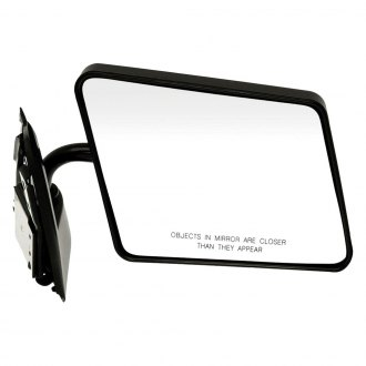 Dorman® - Passenger Side Manual View Mirror (Non-Heated, Foldaway)