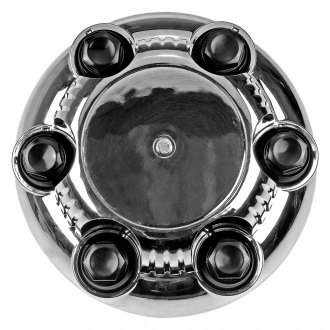Dorman® - Wheel Center Cap (Plastic, Chrome, Nut Covers Thread-on)