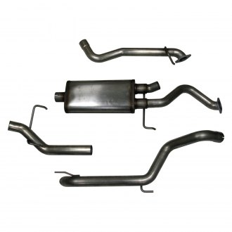 Doug Thorley Headers® - Stainless Steel Dual Cat-Back Exhaust System with Single Side Exit