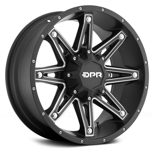 DPR® - GLOC Matte Black with Milled Accents