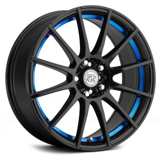 DRAG CONCEPTS® - R-16 Gloss Black with Blue Undercut