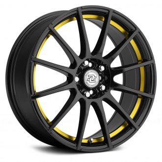 DRAG CONCEPTS® - R-16 Gloss Black with Yellow Undercut