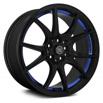 DRAG CONCEPTS® - R-27 Gloss Black with Blue Undercut