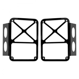 Drake Off Road® - Black Tail Lamp Guards