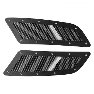 Drake Off Road® - Black Speed Mesh Hood Vent Kit