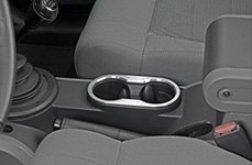 Drake Off Road® - Billet Console Cup Holder Bezel