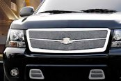 Image may not reflect your exact vehicle! Dresden® - Luxury-Klasse Chrome Mesh Grille Kit
