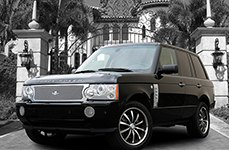 Dresden® - Complete Grille Kit on Land Rover Range Rover HSE