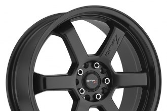 "DRIFZ® - 303B HOLE SHOT Satin Black (16"" x 7"", +42 Offset, 4x100 Bolt Pattern, 73mm Hub)"