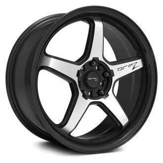 DRIFZ® - 304M CIRCUIT Satin Black with Machined Face