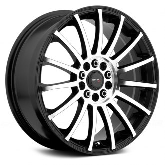 DRIFZ® - 306MB HALO Gloss Black with Machined Face