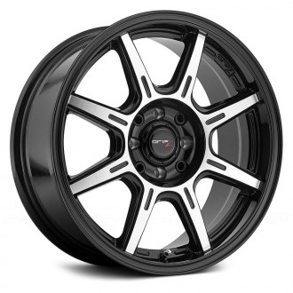 DRIFZ® - 308MB SPEC-R Gloss Black with Machined Face and Accents