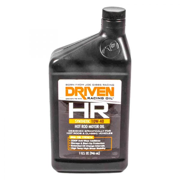 Driven racing oil 03906 hr sae 10w 40 synthetic motor for 10w 40 synthetic motor oil