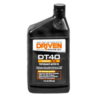 Driven Racing Oil® - DT40 5W-40 High Performance Synthetic Motor Oil