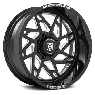 DROPSTARS® - F60BM1 FORGED Gloss Black with CNC Milled Accents
