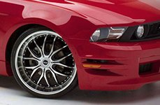 Dropstars 641MB Wheels on Ford Mustang