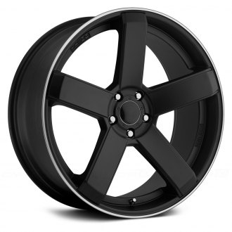 DROPSTARS® - 644B Satin Black with Machined Groove