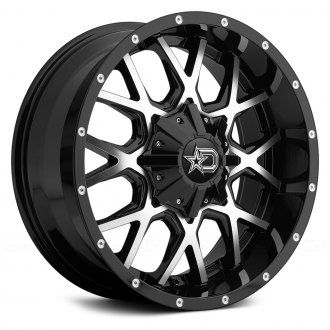 DROPSTARS® - 645MB Gloss Black with Mirror Machined Face