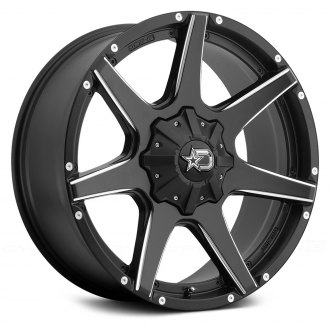 DROPSTARS® - 647BM Satin Black with Milled Accents