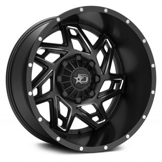 DROPSTARS® - 652BM Satin Black with Milled Accents and Chrome D-Star Cap
