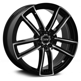 DRW® - D12 Black with Machined Face