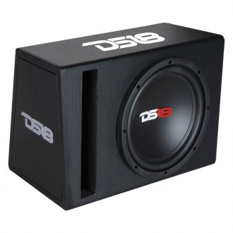 "DS18® - 10"" Single Vented Powered 600W Subwoofer Enclosure"
