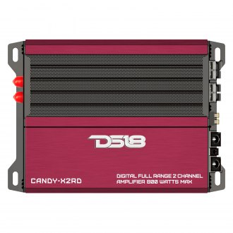 DS18® - Candy Series Class D 2-Channel 800W Amplifier