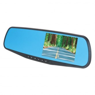 "DS18® - Rear View Mirror with Built-in 4.3"" Monitor/Dash Camera/Bluetooth"