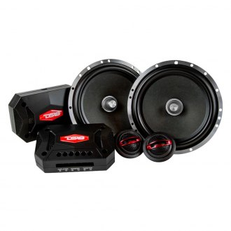 "DS18® - 6-1/2"" 2-Way EXL Series 400W Component Speakers"