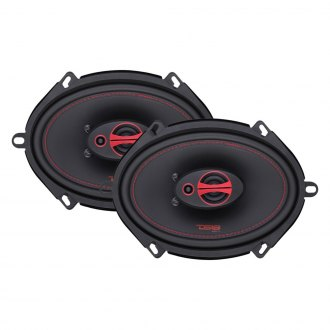 "DS18® - 5"" x 7"" 3-Way Genesis-X Series 150W Coaxial Speakers"