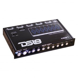 DS18® - 7-Band Stereo Equalizer