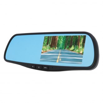 "DS18® - Rear View Mirror with Built-in 5.0"" Monitor/Dash Camera"