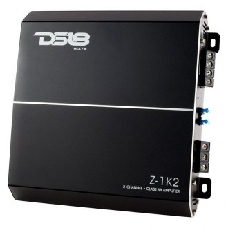 DS18® - Elite-Z Series Class AB 2-Channel 1500W Amplifier