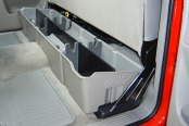 DU-HA® - Underseat Storage Case (Light Gray), In Use