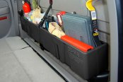 DU-HA® - Behind-the-Seat Storage Case (Black), In Use