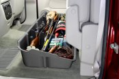 DU-HA® - Underseat Storage Case (Dark Gray), In Use