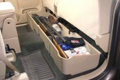 DU-HA® - Underseat Storage Case (Tan), In Use