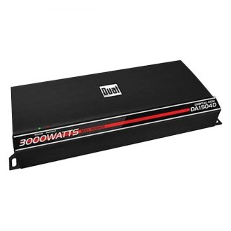 Dual® - Digital Compact Series Class D 4-Channel 3000W Amplifier