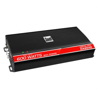 Dual® - Digital Compact Series Class D 4-Channel 600W Amplifier