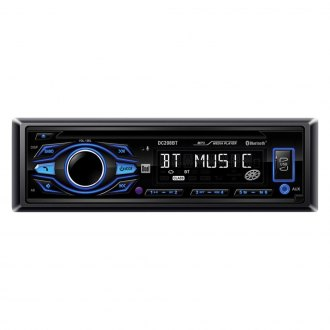 Dual® - Single DIN CD/AM/FM/MP3 Receiver with Built-In Bluetooth