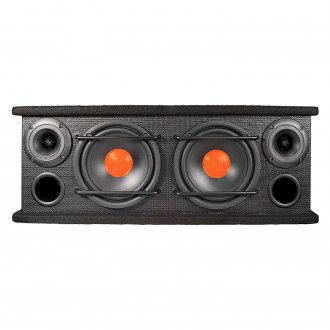 "Dual® - 6-1/2"" Dual Ported Passive 300W Subwoofer Enclosure with Two 3"" Horn Tweeters"