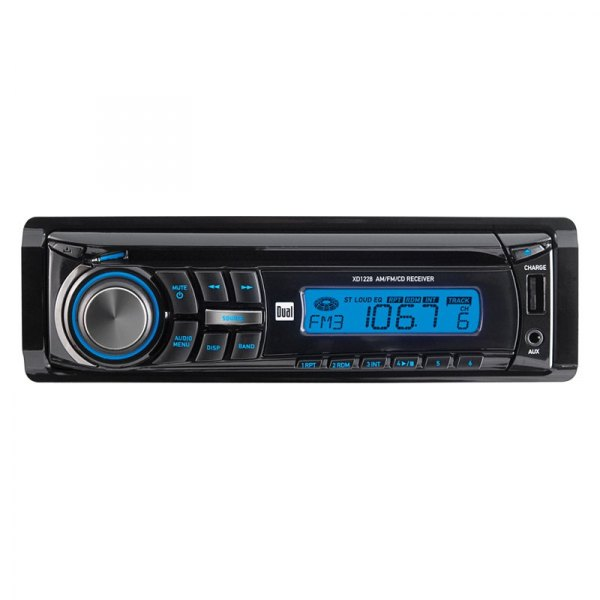 Dual® - Single DIN CD/AM/FM Receiver